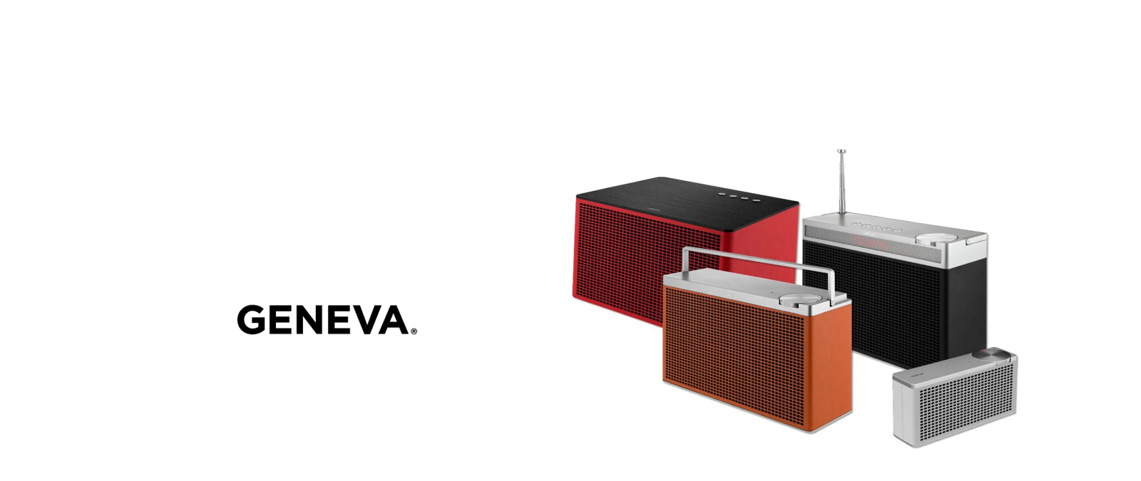 Geneva Lab radios y altavoces bluetooth